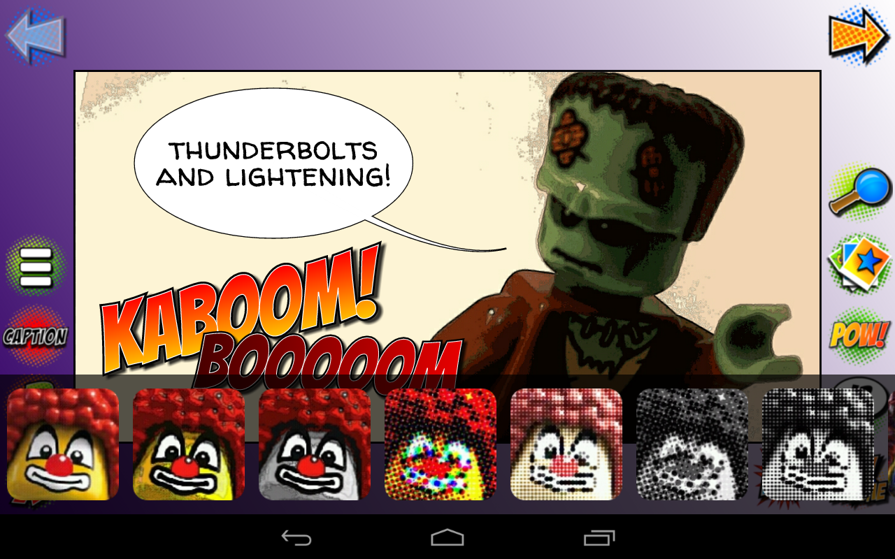 Comic Strip Adventure : create your business comic book thanks to our digital app.